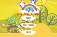 Baby-Kaninchen Reise
