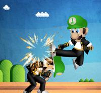 Mario Straße Gefecht