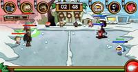 SchneeSchlägerei Streit 3